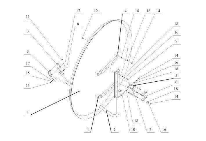 Схема сборки СА-1200